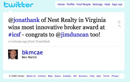 Nest Realty Wins Innovative Brokerage Award
