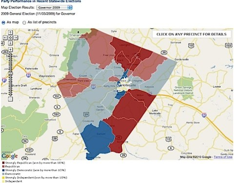 Voting of Albemarle County