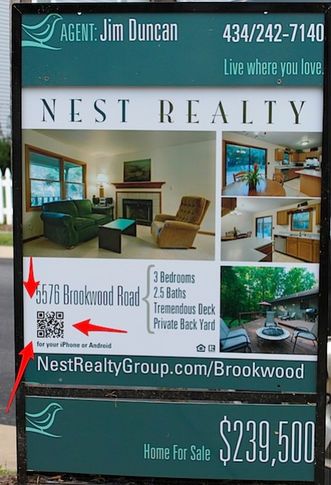 Trying QR Codes on our new listings