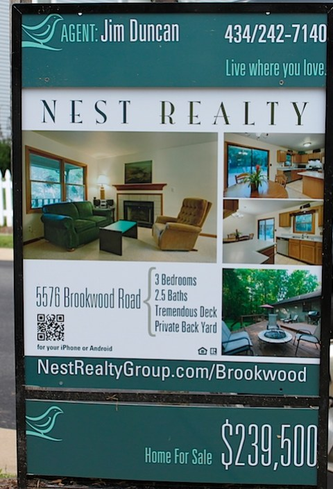 Nest Realty Group Signs