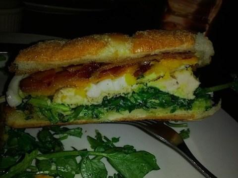 Chicken Sandwich at the Whisky Jar