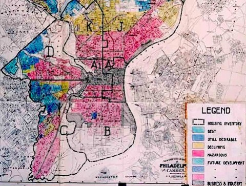 File:Home Owners' Loan Corporation Philadelphia redlining map