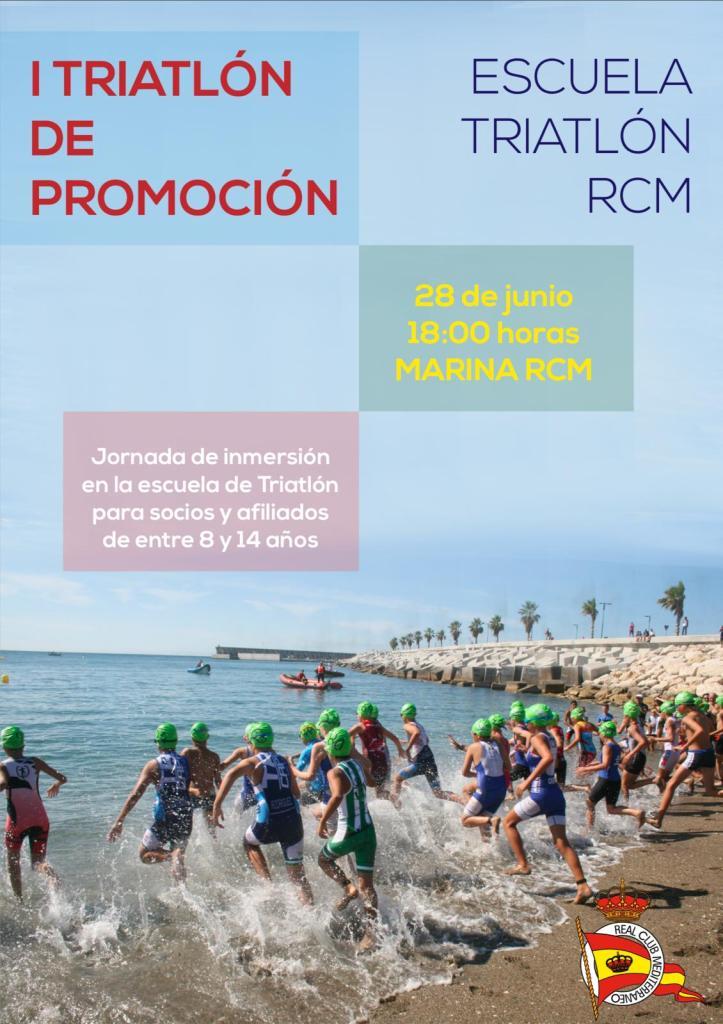 """I Triatlón de Promoción """"Escuela de Triatlón RCM"""": inscripción y normativa"""