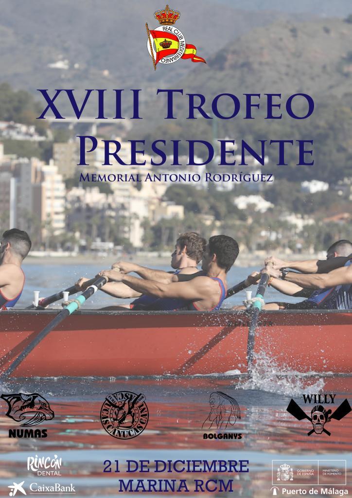XVIII Trofeo Presidente de Remo: información, almuerzo y normativa
