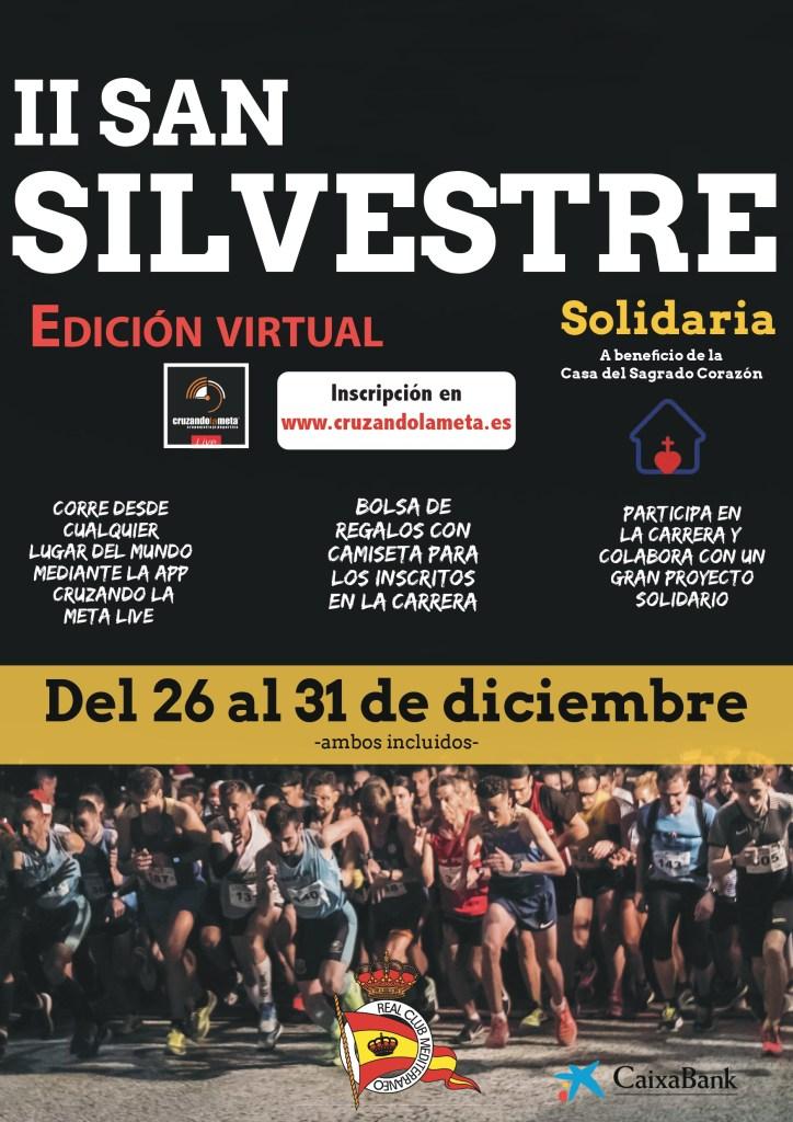 II San Silvestre Solidaria RCM, edición virtual