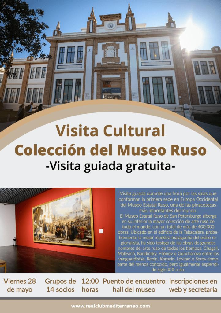 Visita guiada a la Colección del Museo Ruso