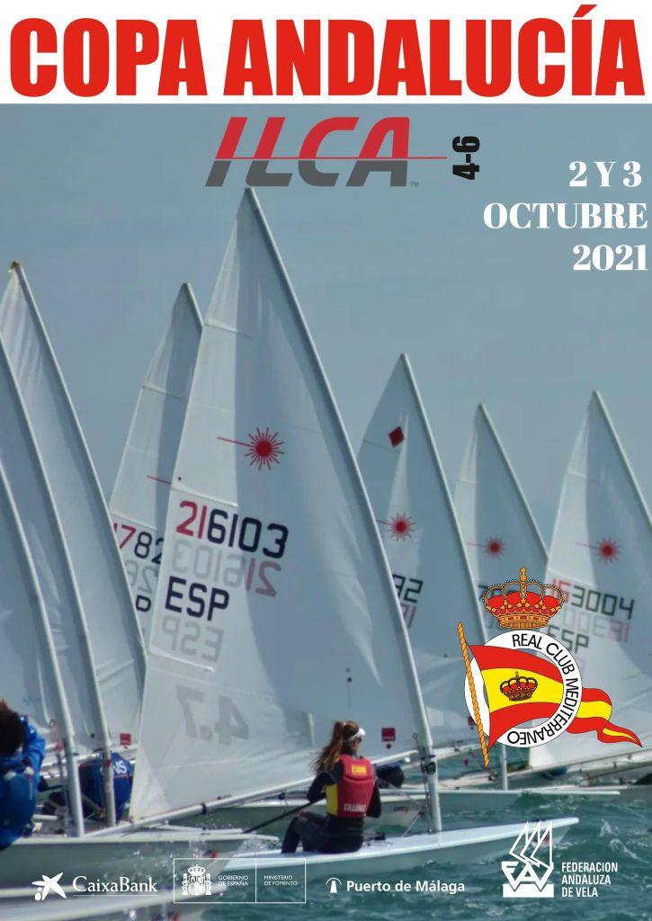 Copa de Andalucía de las Clases ILCA 4 y 6, este fin de semana