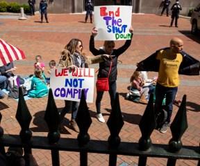 More States Rail Against Lockdown