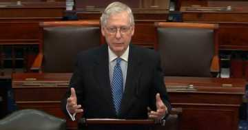 Mitch McConnell Slams Democrats, Impeachment Distracted Trump Admin From Early Coronavirus Threat