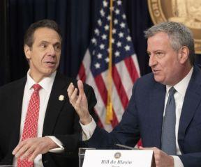 NY's Cuomo, de Blasio Delayed Distancing, Increasing Death Toll