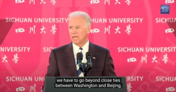 "Flashback: Biden Calls for Communist Chinese Influence in ""All Levels of Government, Classrooms… and Boardrooms"""