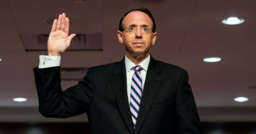 Rosenstein Admits No 'Russian Collusion' Evidence Existed To Justify Mueller Witch Hunt