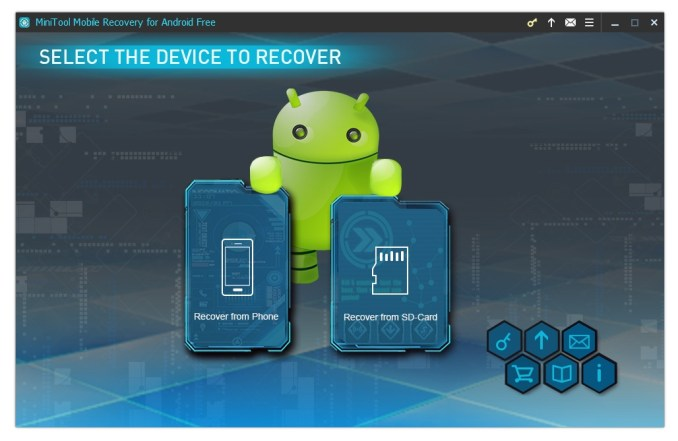 DATA RECOVERY SOFTWARE FOR ANDROID