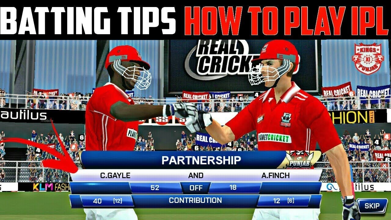Real Cricket 19 Batting Tips And Tricks Latest Tutorial