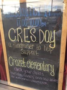Sal's + Crozet Elementary