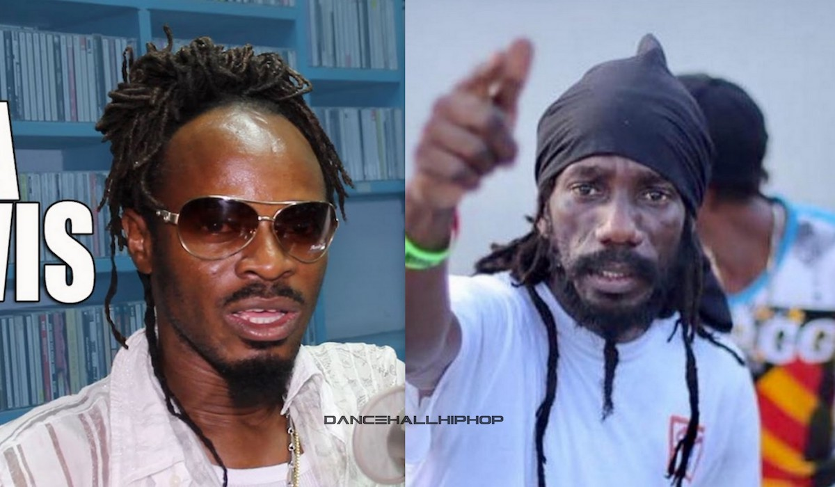 SIZZLA SEND HIS GOONS AFTER LA LEWIS WHO RAN TO POLICE STATION