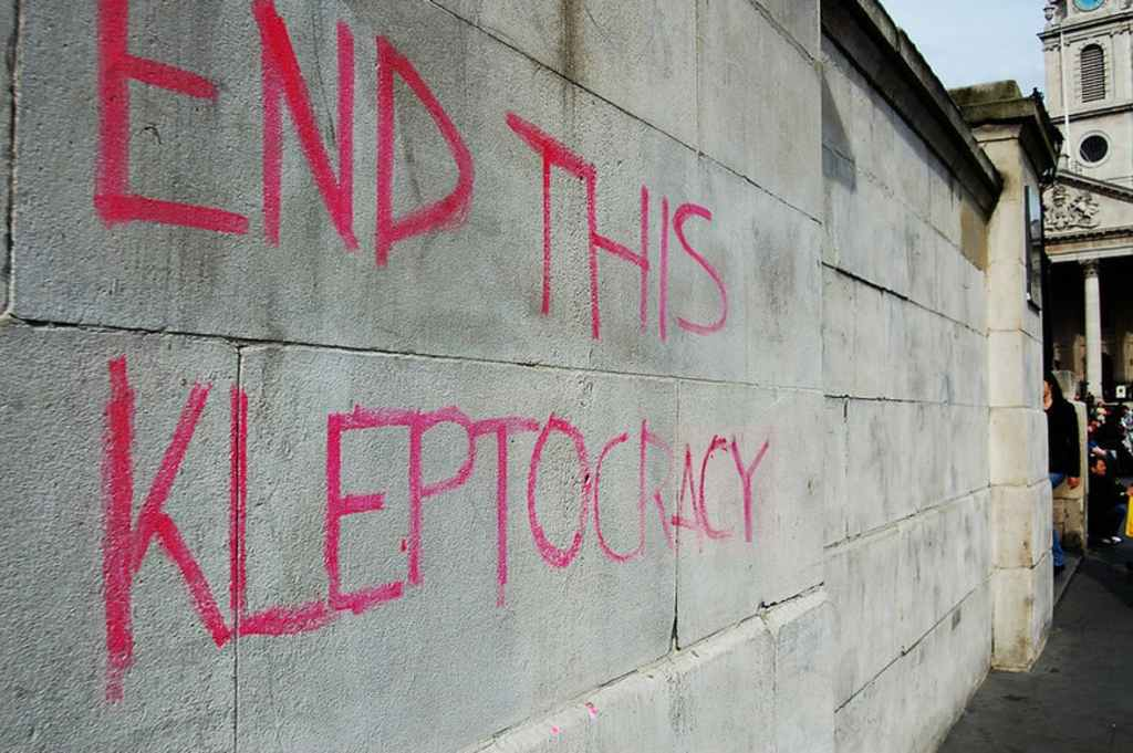 end this kleptocracy
