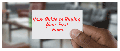 Your guide to buying your first home -