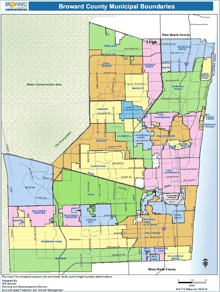 Florida Counties Pompano Beach