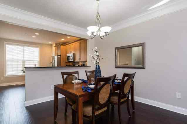 008_Dining Room_Cottages at Brier Creek presented by MORE Real Estate