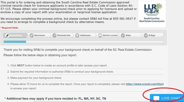 check drivers license status south carolina