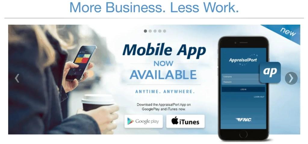 Mobile App Appraisal Port