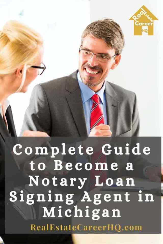 7 Steps to Become a Notary Loan Signing Agent in Michigan