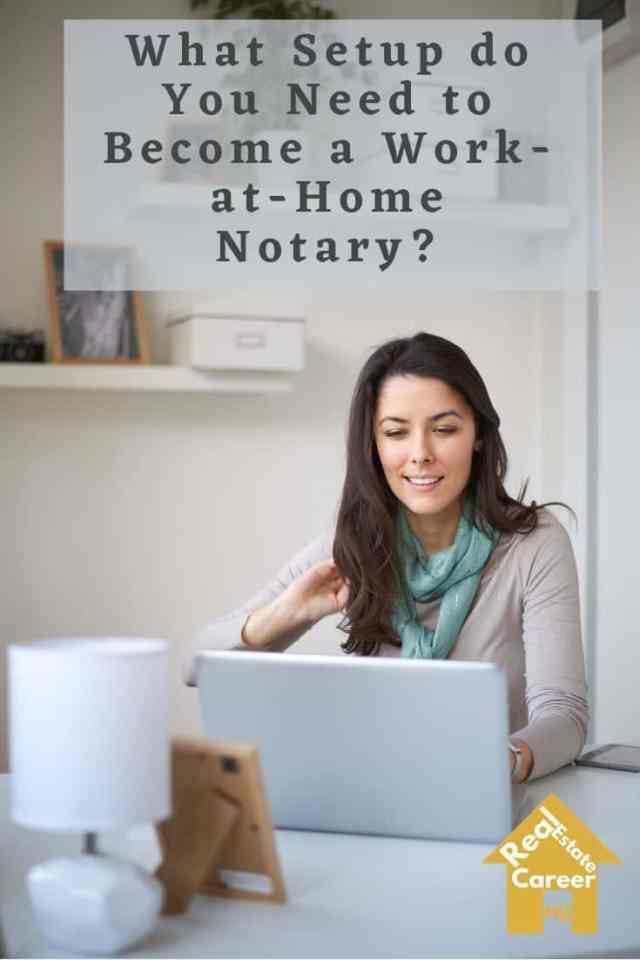 essential setups that for a work-at-home notary