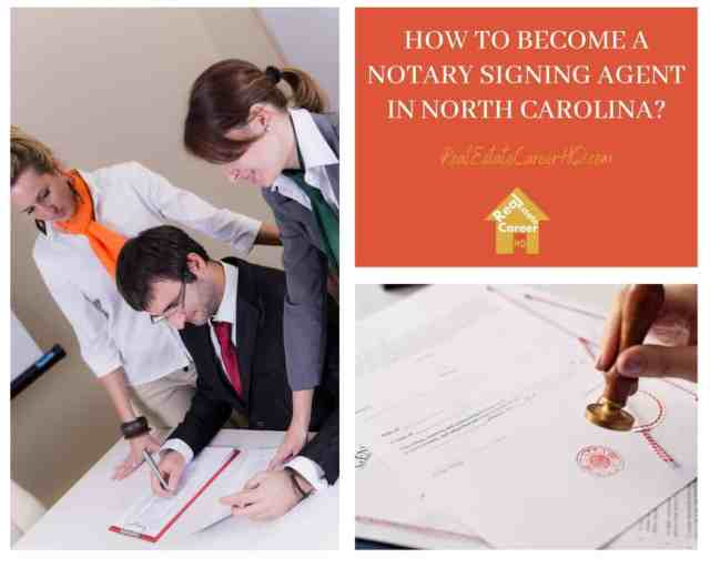 How to Become a Notary Signing Agent in North Carolina?