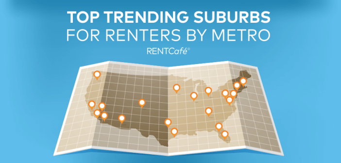 Suburbs with the Biggest Boom in Renters