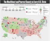 Wealthiest & Poorest Counties in all 50 States