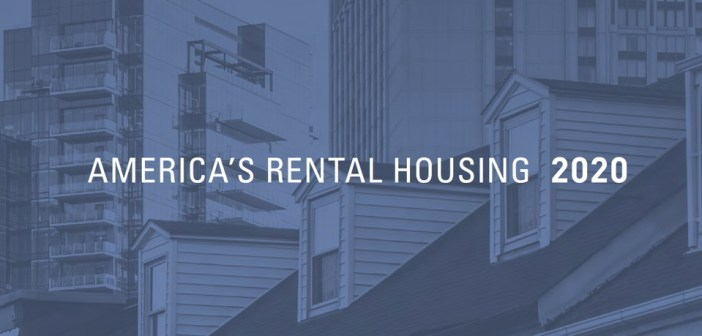 JCHS Report: America's Rental Housing 2020