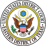 U.S. district court seal eastern district of Texas
