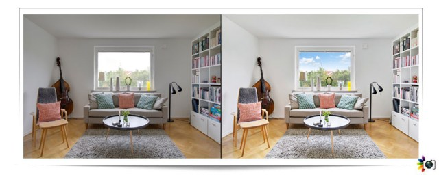 Real Estate Image Blending