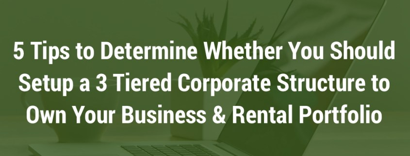 Tiered Corporate Structure