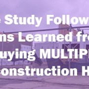 buying Pre-construction Homes