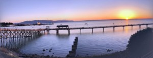 Taylor dock Bellingham bay