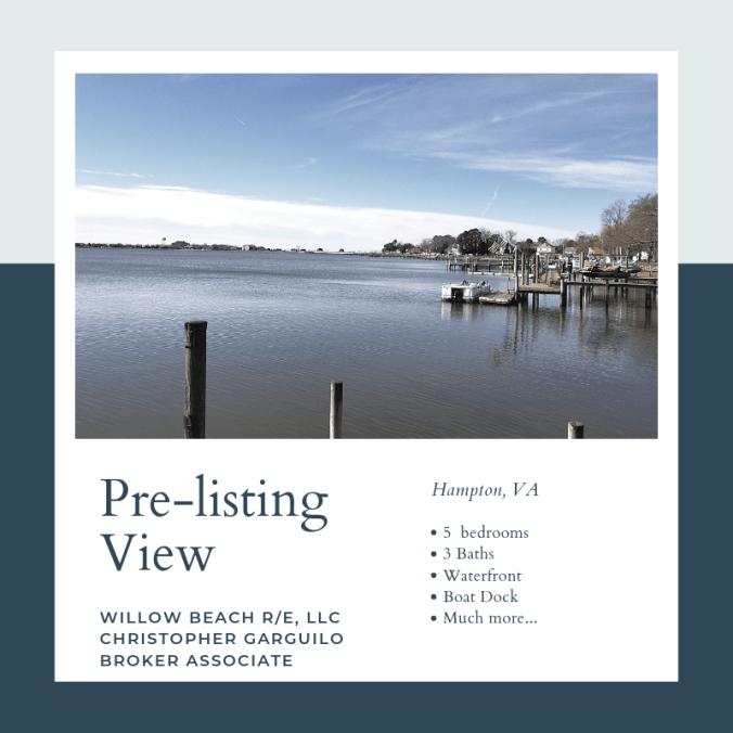 Pre-listing View
