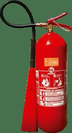 Extintor de incêndio gás Carbônico CO2 6 kgs