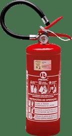 Extintor de incêndio ABC automotivo 4 kg 3 anos de validade