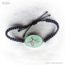 Limu Bracelet (Aqua)
