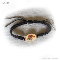 Wild Flower Bracelet (Ivory)