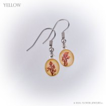 Limu Small Earrings (Yellow)
