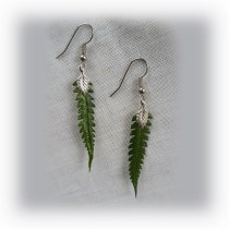 Dainty Fern Earrings
