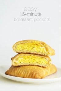 Breakfast Pockets via Real Food by Dad