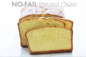 Pound Cake via Real Food by Dad