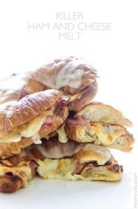 Killer Ham and Cheese Melt via Real Food by Dad