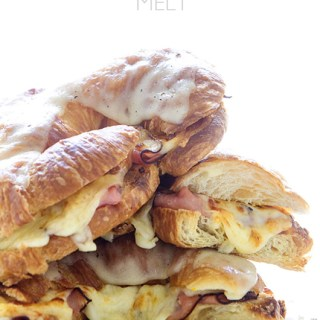 Killer Ham and Cheese Melt via Real Food by Dad
