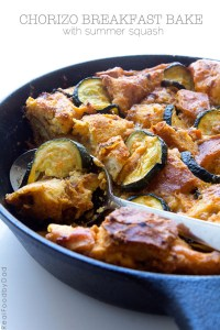 Chorizo Breakfast Bake with Real Food by Dad