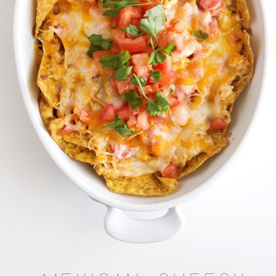 Mexican Cheesy Chicken Bake by Real Food by Dad